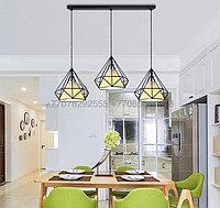 Потолочный светильник в стиле Лофт черный, фото 1