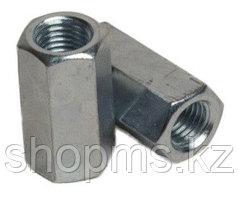 Муфта соединительная для шпильки DIN 6334 оцин. М12х19х40