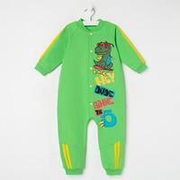Комбинезон для мальчика, цвет зелёный, рост 80 см