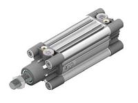 1391.50.0125.02  -  ПНЕВМОЦИЛИНДР  ISO,  D=50  ход 125 мм, нержавеющийпроходной шток, магнит