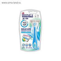 Бритва Deonica for women 3 лезвия, со сменной кассетой