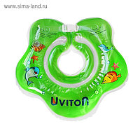 Круг для купания на шею Uviton, зелёный