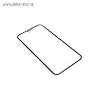 Защитное стекло Innovation 2D для Apple iPhone XR/11, полный клей, черная рамка