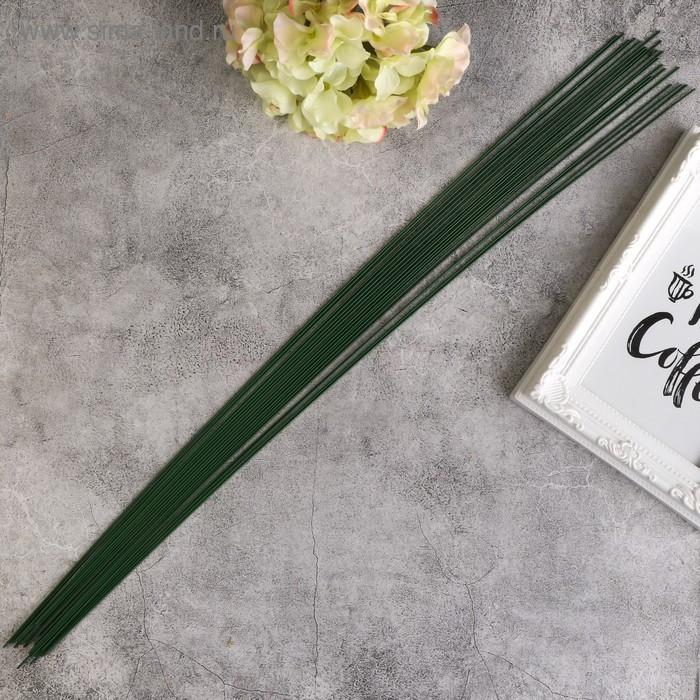 Проволока для флористики 50 см, 1,2 мм, 20 шт - фото 1