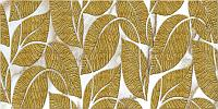 Листья Золото Светлый фон 960*480 мм