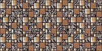 Мозайка 2 квадрата бронза 960*480 мм