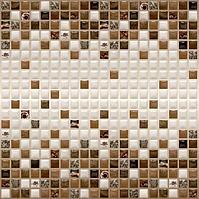 Шоколадная мозайка 595*595 мм
