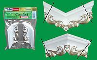 Углы для потолочного плинтуса 7024 серебро