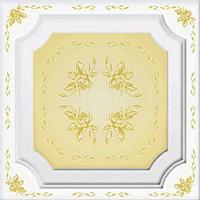 Плитка потолочная Богема золото