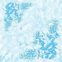 Плитка потолочная Виктория голубой