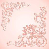 Потолочная плитка Морозко розовый