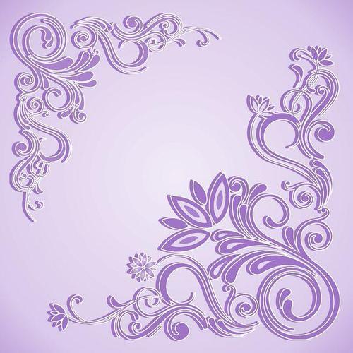 Потолочная плитка Морозко фиолет