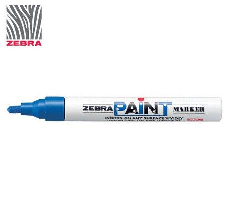 Маркер краска ZEBRA PAINT MARKER цвет синий, фото 2