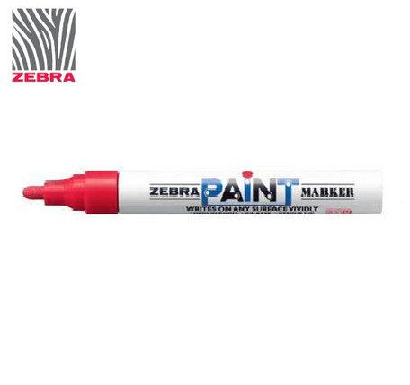 Маркер краска ZEBRA PAINT MARKER цвет красный, фото 2