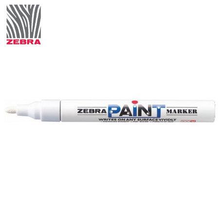 Маркер краска ZEBRA PAINT MARKER цвет белый, фото 2
