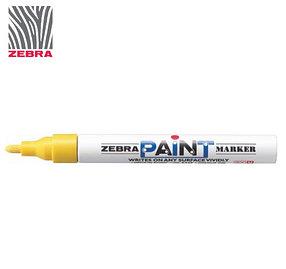 Маркер краска ZEBRA PAINT MARKER цвет желтый