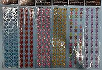 Стразы самоклеющиеся наклейки 27*8 мм