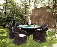 Набор садовой мебели стол + 4 кресла