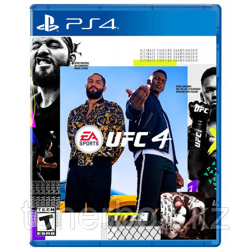 Игра для PS4 UFC 4