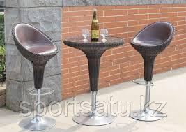 Набор мебели, барный из искусственного ротанга