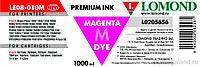 Чернила R270/L800 LOMOND LE08-10M Magenta / Пурпурный 1L.