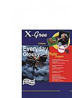 Фотобумага X-GREE Глянцевая EVERYDAY A5/50/240г E7240-А5-50