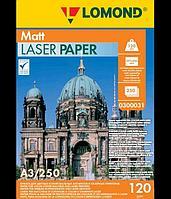 Бумага LOMOND для Лаз.Печати Матовая Двух А3/250/120г 0300031