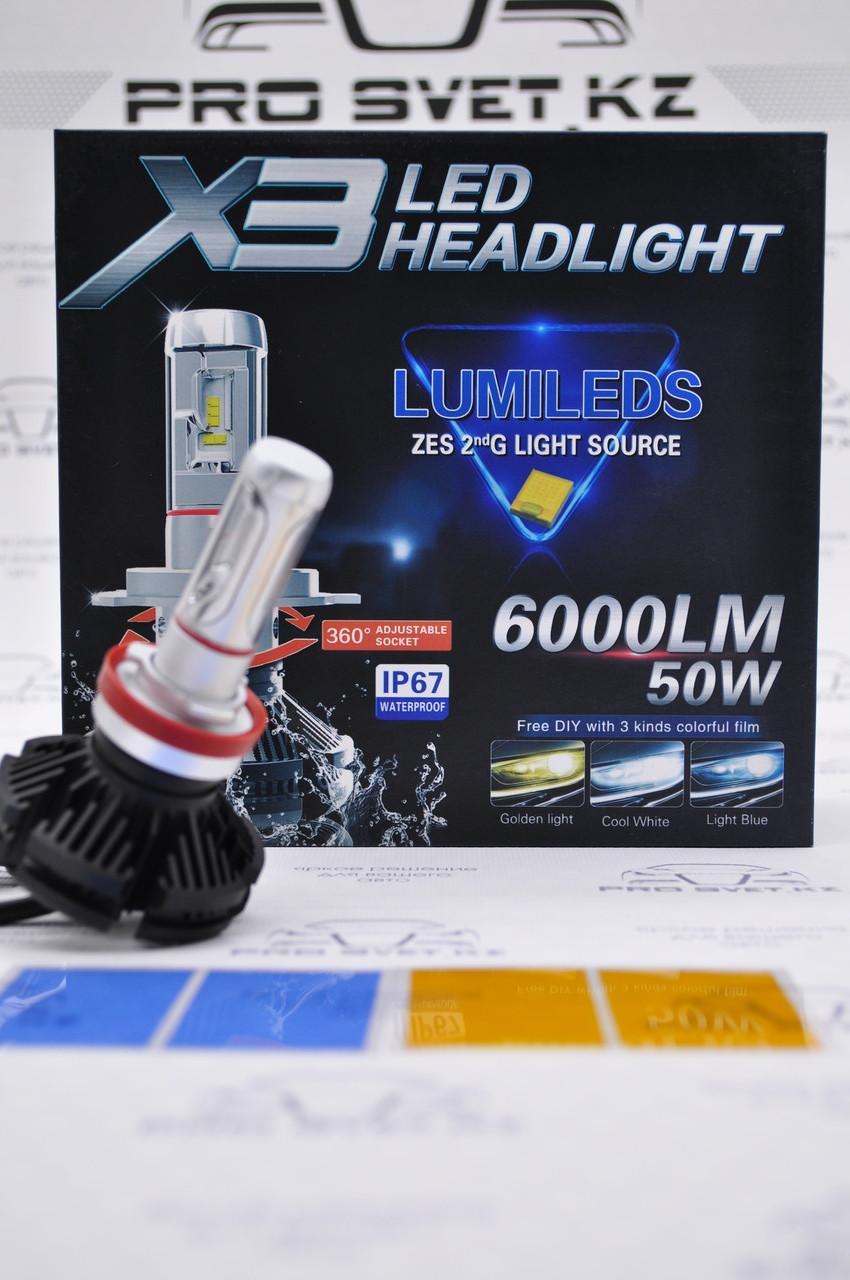 Led X3 Headlight