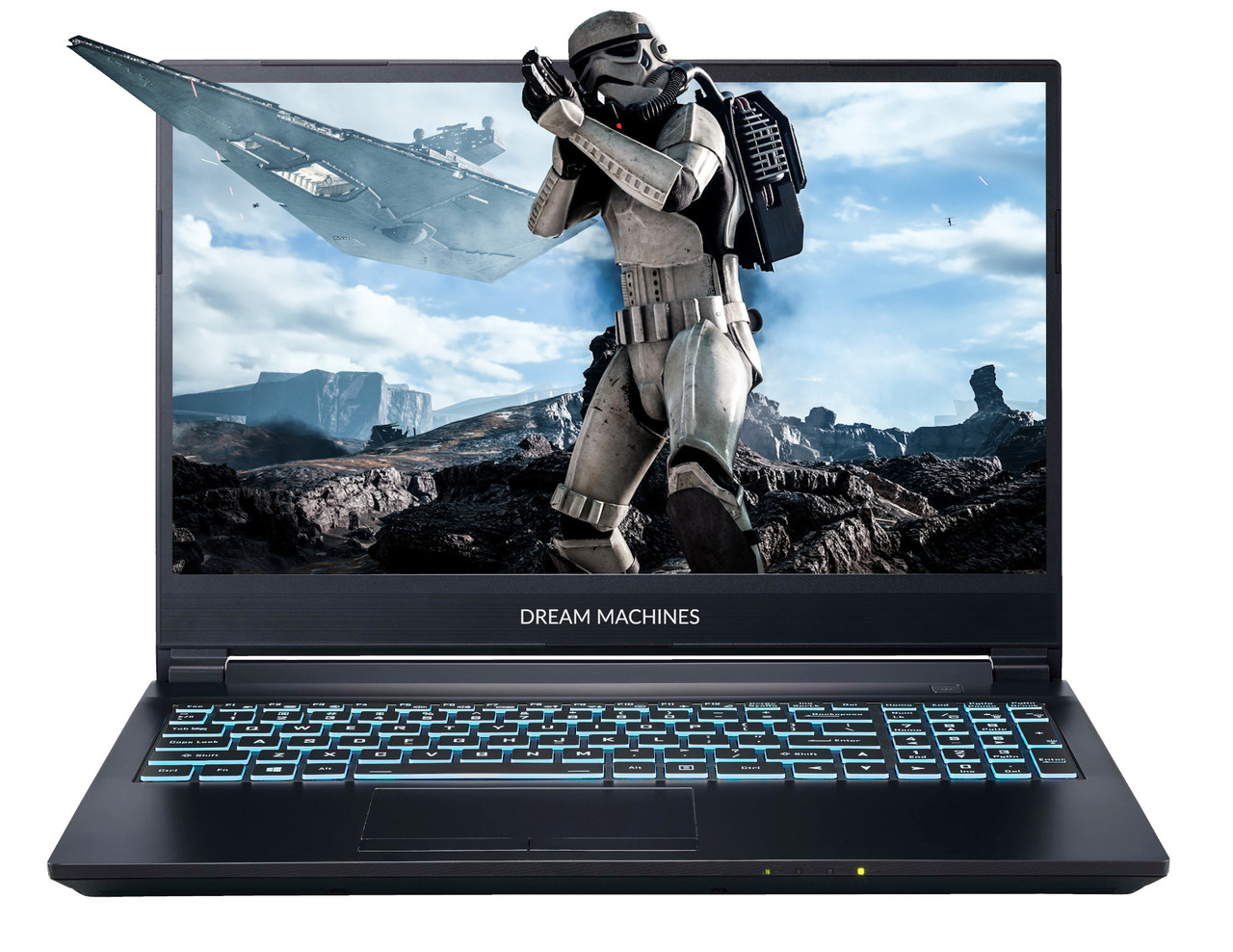 Игровой ноутбук Dream Machines G1650-15KZ02 15.6'' FHD, i5-9300H, GTX1650 4GB