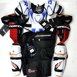хоккейная защитная экипировка