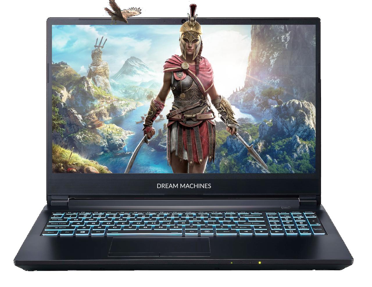 Игровой ноутбук Dream Machines G1650Ti-15XX07 <15.6'' FHD WVA, i7-10750H, GTX1650Ti 4GB)
