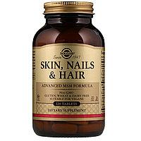 Кожа Волосы Ногти, Солгар улучшенная формула МСМ, 120 таблеток