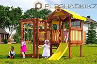 Детская площадка Савушка BABY-1(play), швед. стенка, балкон, игровой домик, турник, бинокль, руль., фото 1