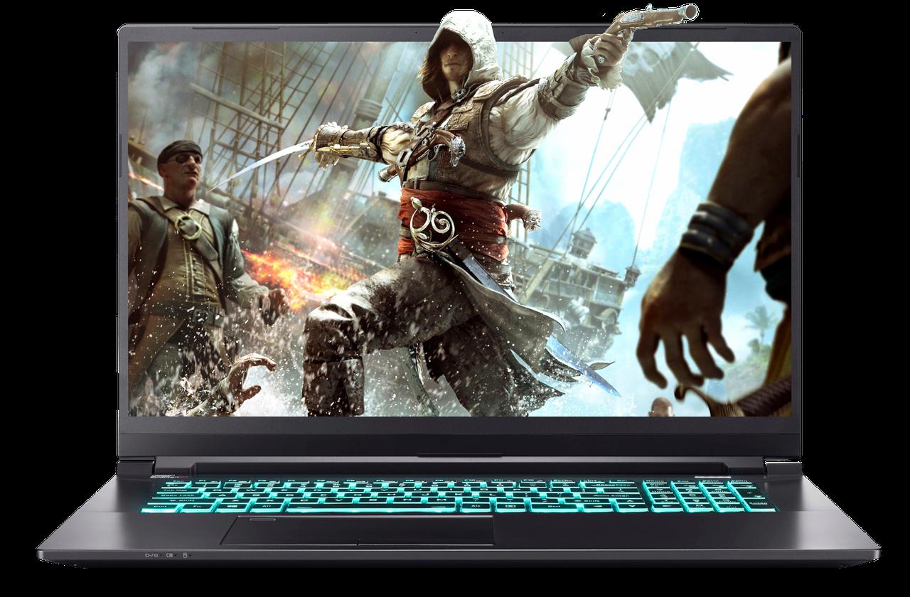 Игровой ноутбук Dream Machines RS2080Q-17KZ03 17.3'' FHD 144Hz Slim i7-9750H RTX2080 Max-Q 8GB