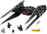 """Конструктор Bela 10907 """"Истребитель СИД Кайло Рена"""", 648 деталей, аналог Lego Star Wars 75179, фото 2"""