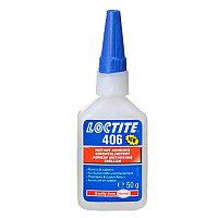 Loctite 406 (50г) для склеивания пластмасс, резины и др.