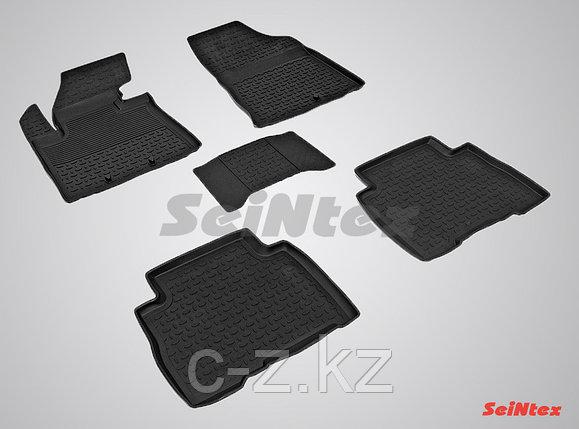 Резиновые коврики с высоким бортом для KIA Sorento 2013-2020, фото 2
