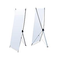 Рекламный стенд-паук (Х-конструкция) X3 (160см х 60см)