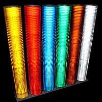 Светоотражающая пленка Didax (соты) синий (1,22м х45м)