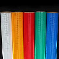 Светоотражающая пленка Reflective econom синяя (1,22м х45м)