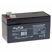 Аккумулятор  ALFA FB  12В  1,2Ah