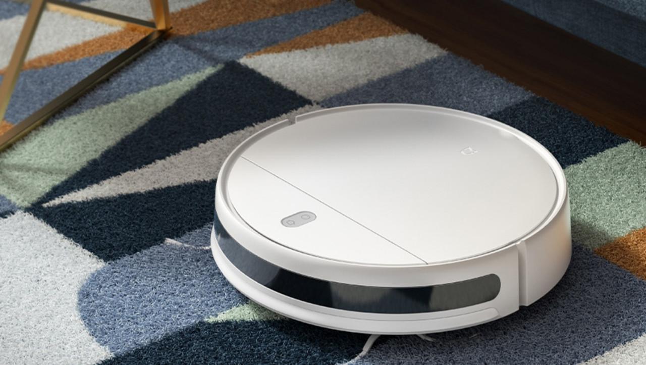Робот-пылесос Xiaomi Mijia G1 Sweeping Vacuum Cleaner +набор боковых щеток (2 шт) + набор hepa фильтров (2 шт) - фото 1