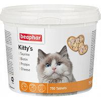 Beaphar Kitty*s Mix, Беафар Вит. Киттис таурин+биотин, протеин, сыр. 750т.