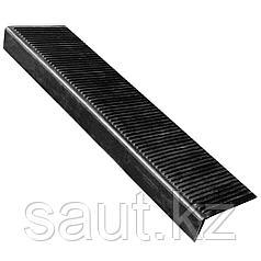 Накладка на ступень (Проступь) Большая 1100х305х110 Черная