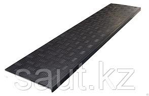 Накладка на ступень (Проступь) Длинная-max 1500x300x30 Черная, фото 2