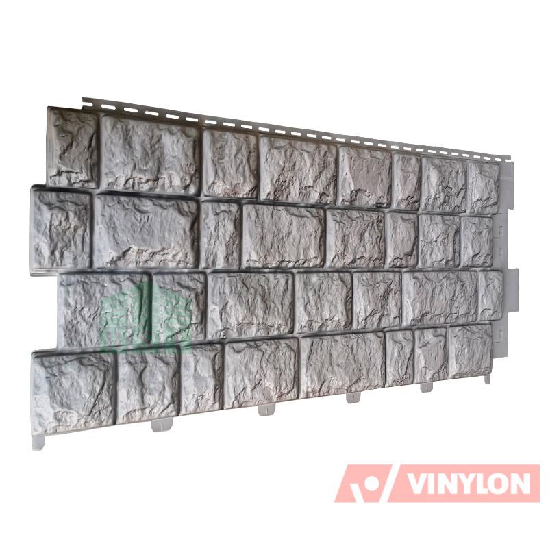Фасадная панель Vinylon Pietra Castello Grigio (серый)
