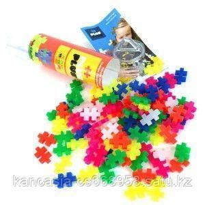 Plus Plus Игрушка, Plus Plus Разноцветный конструктор для создания 3D моделей, неон