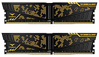 ОЗУ Team Group Vulcan TUF Yellow 8GBx2/2400 DDR4 DIMM, CL14, 1.2V, TLTYD416G2400HC14DC01