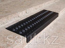 Накладка на ступень (Проступь) 1268*300*76 Елочная Черная, фото 3