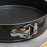 Форма для выпечки разъёмная Доляна «Элин. Круг», d=28 см, антипригарное покрытие, фото 2